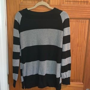 Poof striped sweater